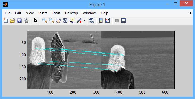 پروژه تطبیق نمای تصویر SIFT | مرجع پروژه های برنامه نویسی آماده