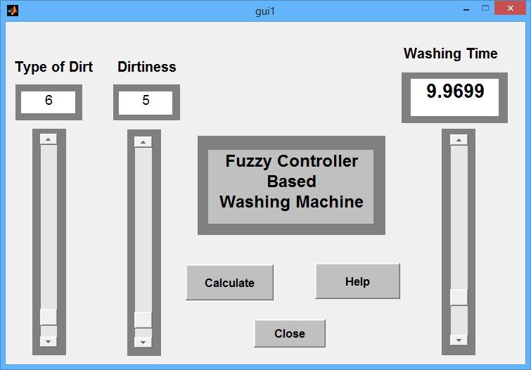 پروژه ماشین لباسشویی با سیستم تصمیم کنترل فازی با نرم افزار MATLAB