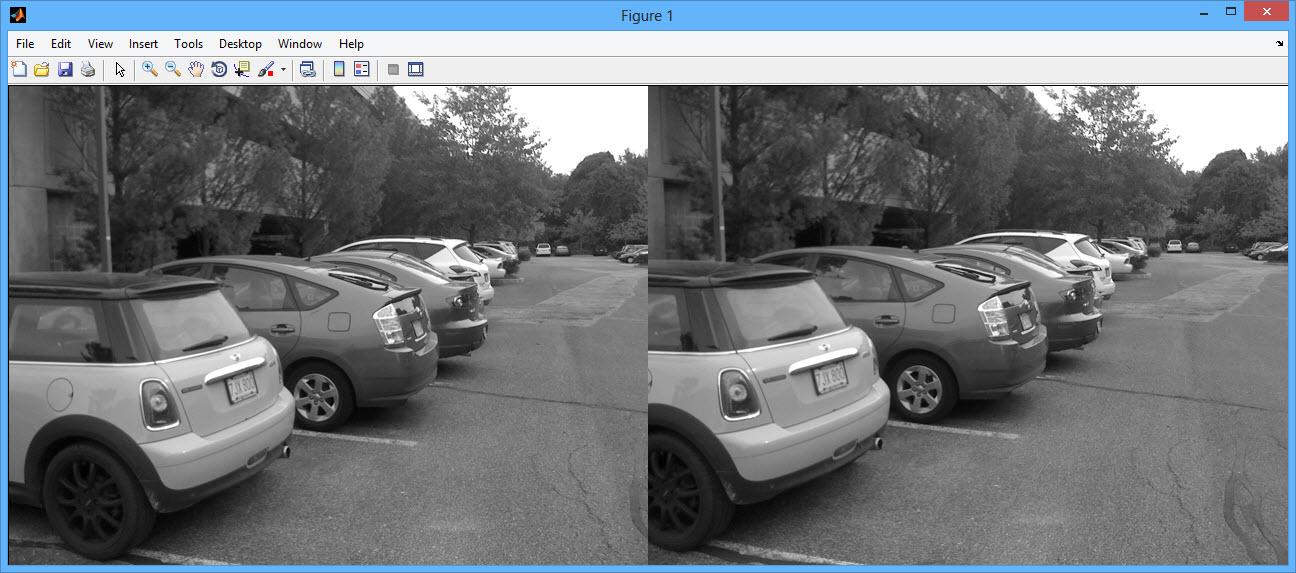 پروژه اصلاح تصویر به روش دید استریو با نرم افزار MATLAB همراه دیتابیس:انجام پروژه متلب