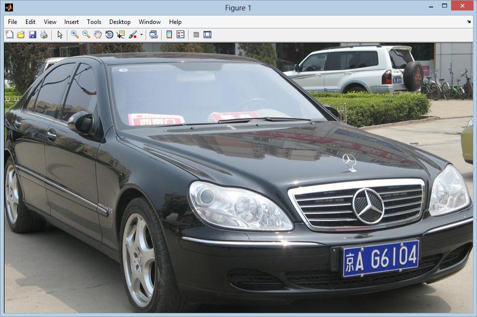 تشخیص پلاک خودرو با استفاده از متدهای پردازش تصویر ساده با مطلب